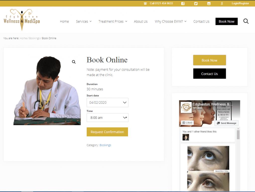 Woocommerce booking system - Savemi