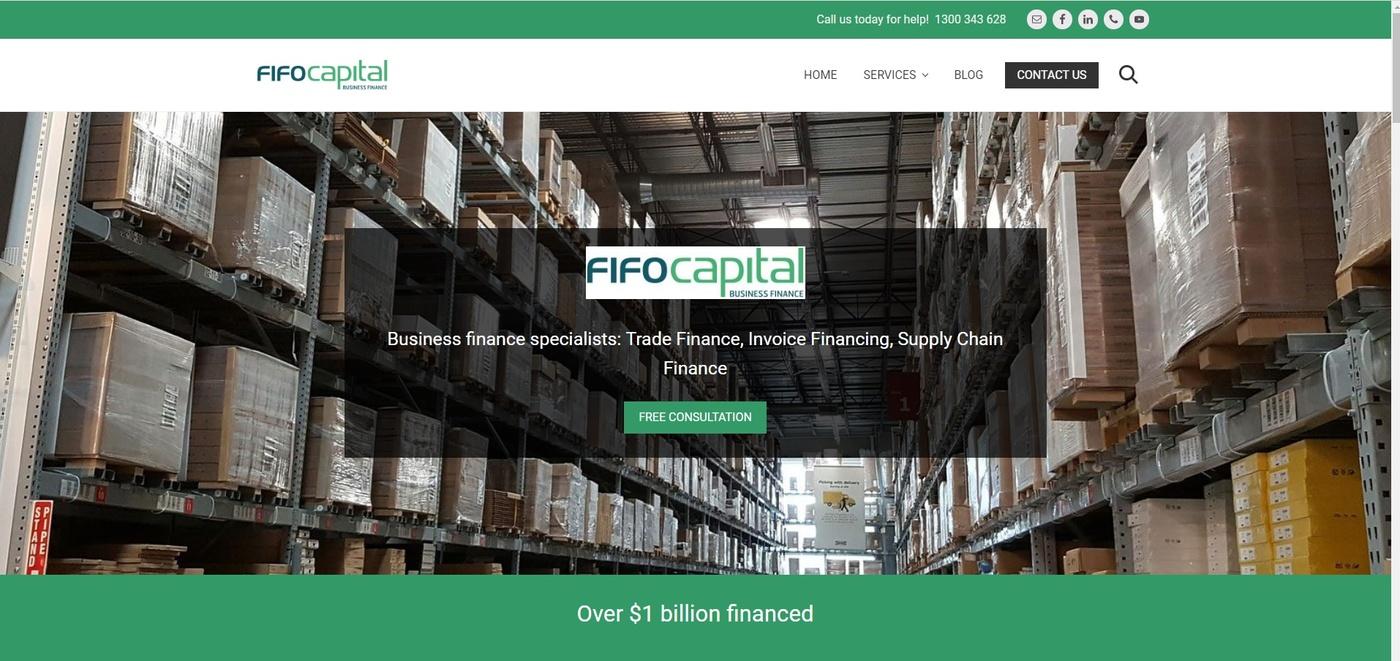 Finance website and app