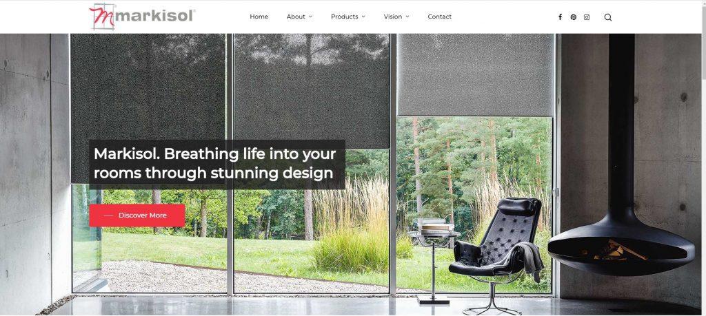 Markisol Blinds Website
