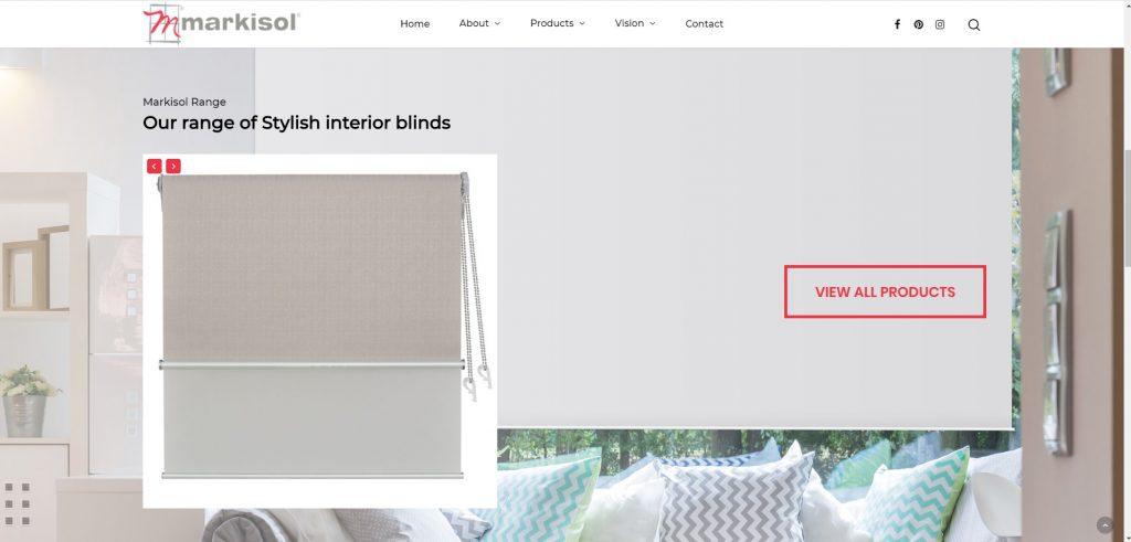 Markisol Blinds Home Page 2