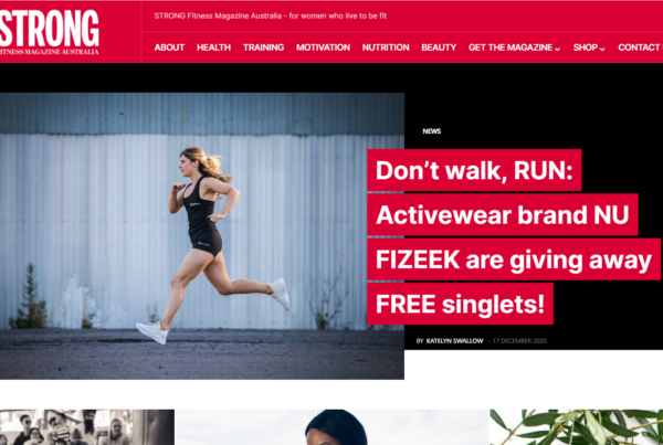 Strong Fitness Magazine Website Development