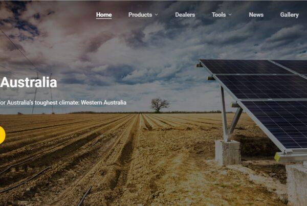 Nastec Australia website 1
