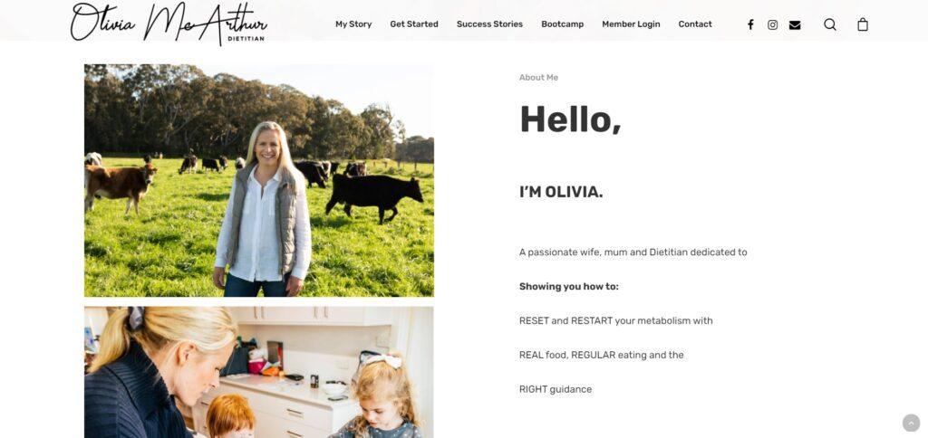 OM Dietitian Website 2