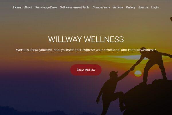 Willway Wellness health and wellbeing website 1