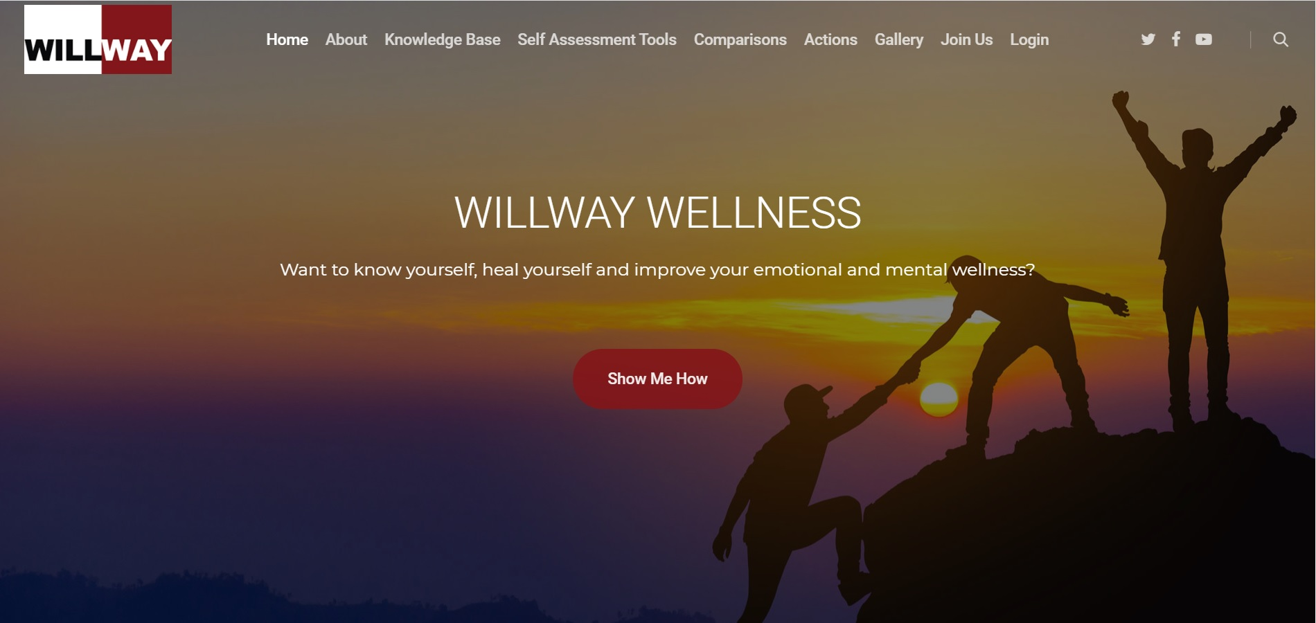 Willway Wellness health and wellbeing website 1